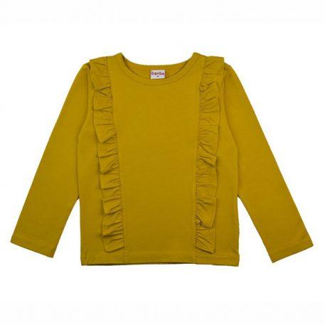 Baba Babywear Ruffle Shirt Mustard