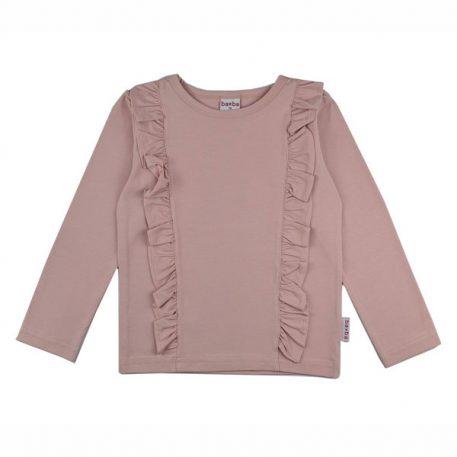 Baba Babywear Ruffle Shirt Pink