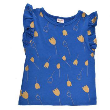 Baba Babywear Ruffle Shirt Tulip Gold