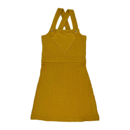 Baba Babywear Salopet Dress Mustard