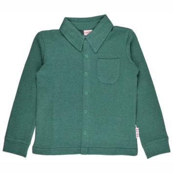 Baba Babywear Shirt Pique Bicolor Green