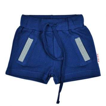 Baba Babywear Short Pant Double Knitted Blue
