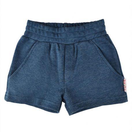 Baba Babywear Short Pants Jacquard Blue