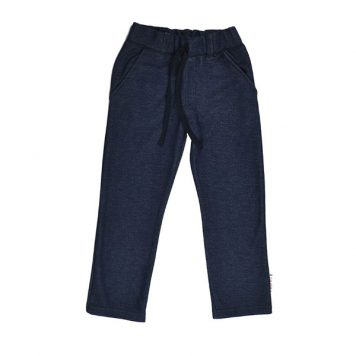 Baba Babywear Straight Pants Denim Blue