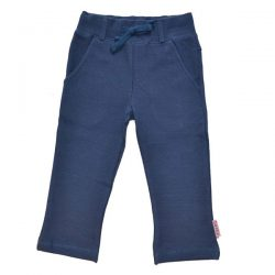 Baba Babywear Straight Pants V-Knitted Dark Blue