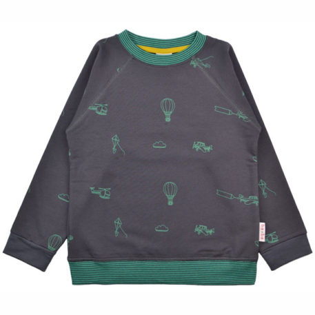 Baba Babywear Sweater Airplanes