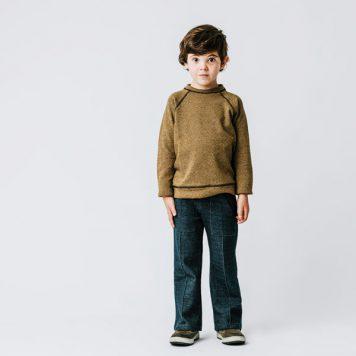 Baba Babywear Sweater Jacquard Cubes