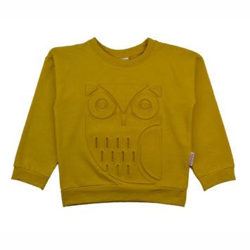 Baba Babywear Sweater Owl Mustard