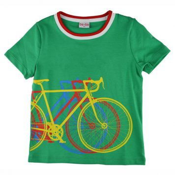 Baba Babywear T-shirt Bike Green