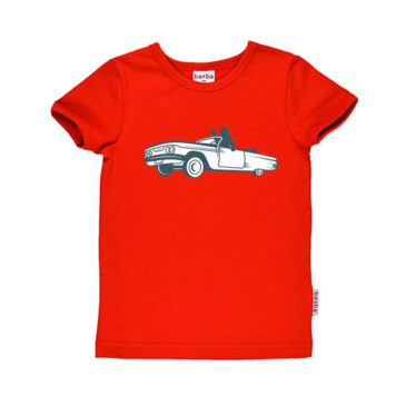 Baba Babywear T-shirt Car Bear
