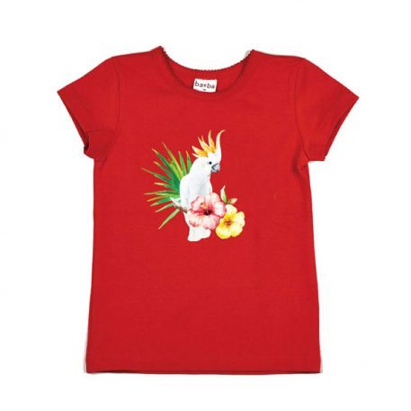 Baba Babywear T-shirt Cockatoo Red