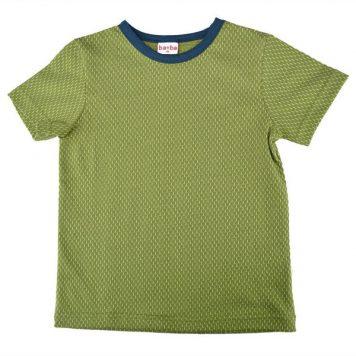 Baba Babywear T-shirt Jacquard Kaki