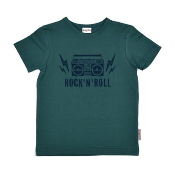 Baba Babywear T-shirt Rock Dark Green