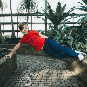 Baba Babywear T-shirt Skater Red