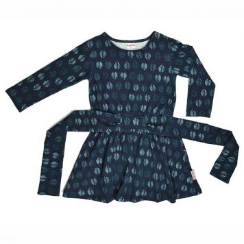 Baba Babywear Tie Dress Feathers