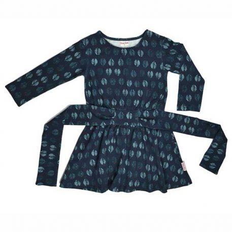 Baba Babywear Tie Dress Feathers
