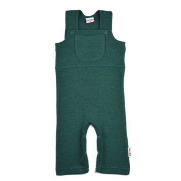 Baba Babywear Worker Bicolor Green Pique