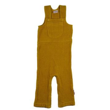 Baba Babywear Worker Mustard Corduroy