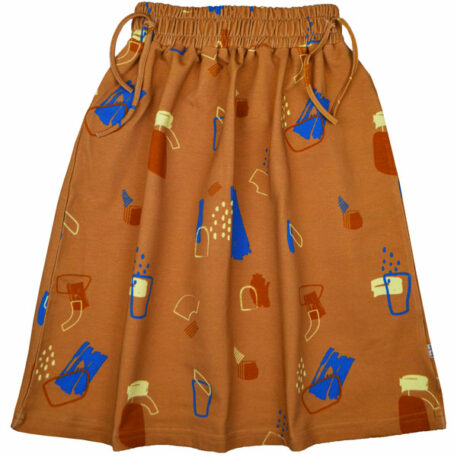 Baba Kidswear Chaga Skirt Painted Forms