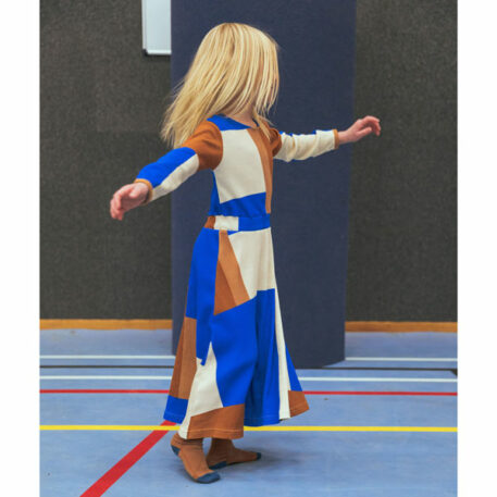 Baba Kidswear Charlotte Dress Colorblock Rib