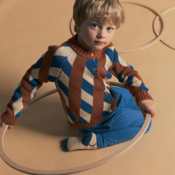 Baba Kidswear Claire Cardigan Cross Knitwear