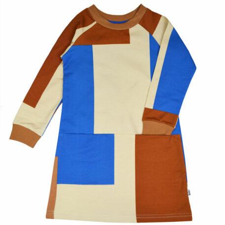 Baba Kidswear Clarisse Dress Colorblock