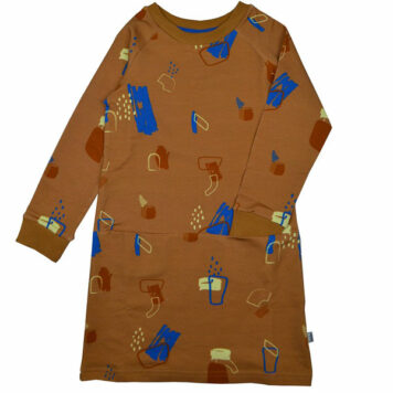 Baba Kidswear Clarisse Dress Painted Forms