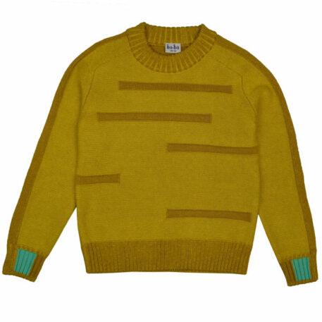 Baba Kidswear Cooper Pullover Honey