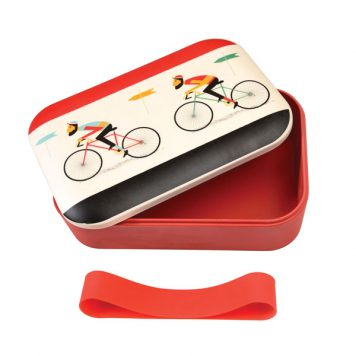 Bamboo Lunch Box Le Bicycle