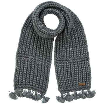 Barts Solace Scarf Dark Grey