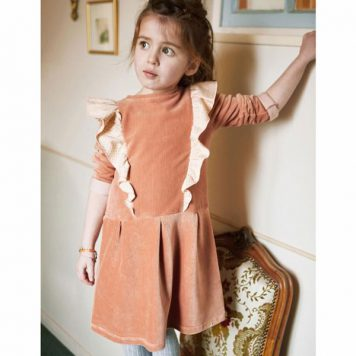 Blune Dress Foxtrot Velours