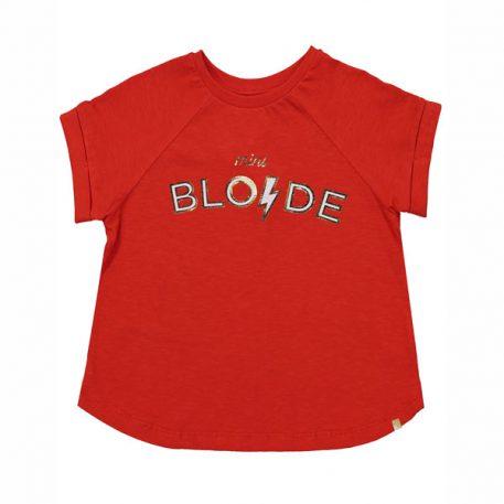 Blune T-shirt Mini Blonde Fraise