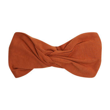 CarlijnQ Basics Twisted Headband Rust