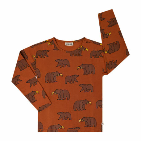 CarlijnQ Boxed Longsleeve Grizzly