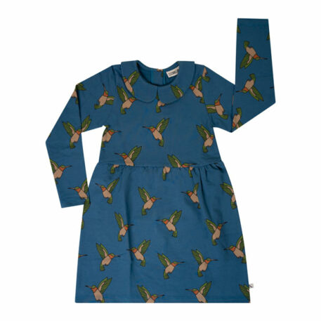 CarlijnQ Collar Dress Hummingbird
