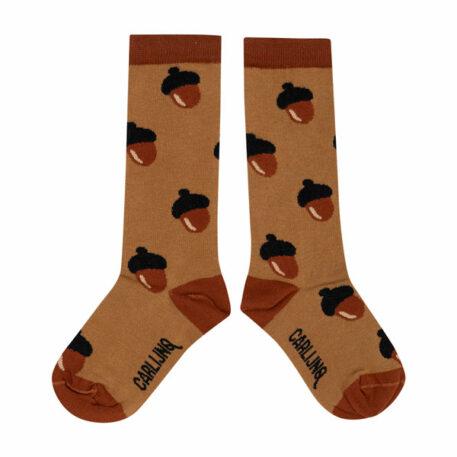 CarlijnQ Knee Socks Acorn