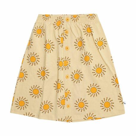 CarlijnQ Longskirt with Buttons Sunshine