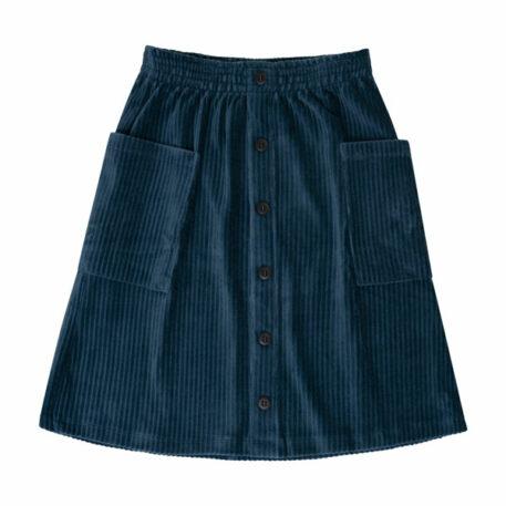 CarlijnQ Midi Skirt Corduroy Teal