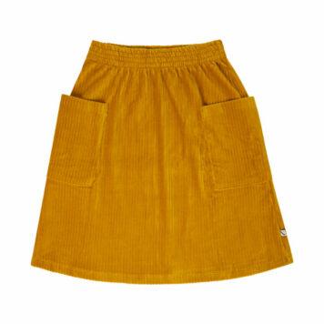 CarlijnQ Midi Skirt Corduroy Yellow