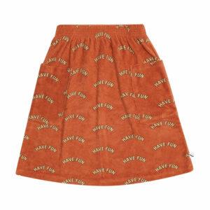 CarlijnQ Midi Skirt with Pockets Have Fun