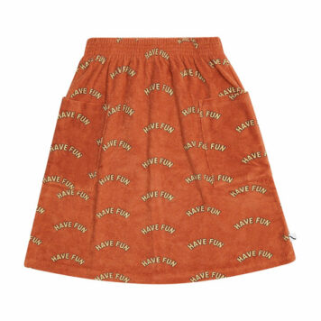 CarlijnQ Midi Skirt with Pockets Have Fun