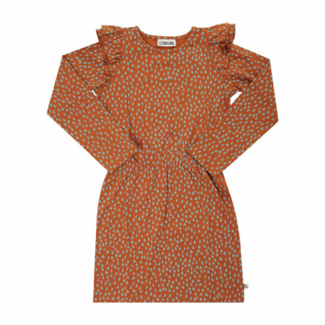 CarlijnQ Ruffled Dress Moutain Air Sparkles