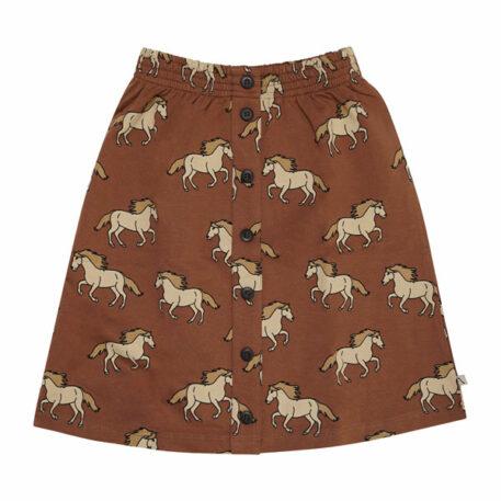 CarlijnQ Skirt French Terry Wild Horses