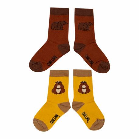 CarlijnQ Socks Set Alpine Marmot & Grizzly