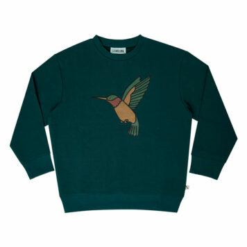 CarlijnQ Sweater Hummingbird Print