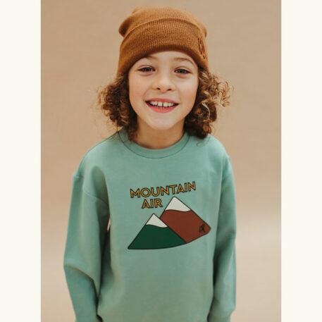 CarlijnQ Sweater Mountain Air Print