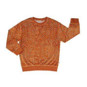 CarlijnQ Sweater Velours Mountain Air Sparkles