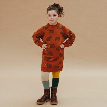 CarlijnQ Sweaterdress Grizzly