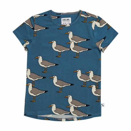 CarlijnQ T-Shirt Dropback Seagull
