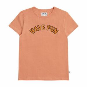 CarlijnQ T-Shirt Have Fun Pink